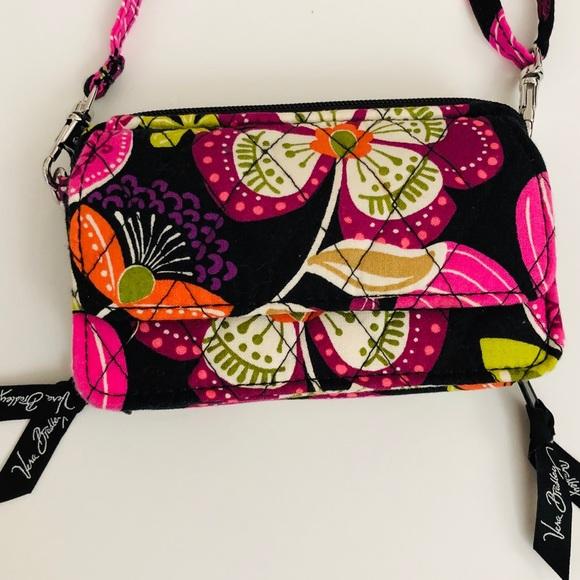 Vera Bradley Handbags - Vera Bradley Wallet w/ Crossbody Strap